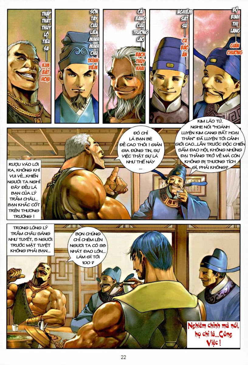 Ôn Thụy An Quần Hiệp Truyện chap 7 trang 22
