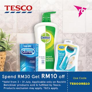Lazada Voucher Code Malaysia Tesco Reckitt Benckiser Products