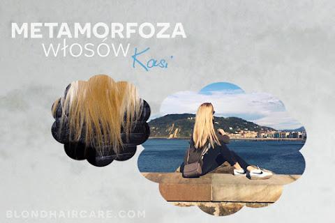 Metamorfoza blond włosów Kasi  - czytaj dalej »