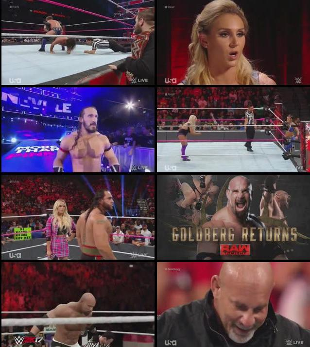 WWE Monday Night Raw 17 Oct 2016 HDTV 480p
