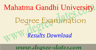 MGU degree 2nd year results 2017 date mg university ug final year result
