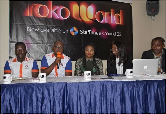 Funke Akindele Unveiled As Iroko TV Ambassador [PHOTOS]