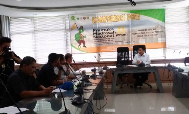 Perkemahan Pramuka Madrasah Nasional Wadah Positif Generasi Muda