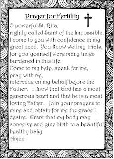 http://getpregnantover40.com/saint-rita-for-fertility.htm