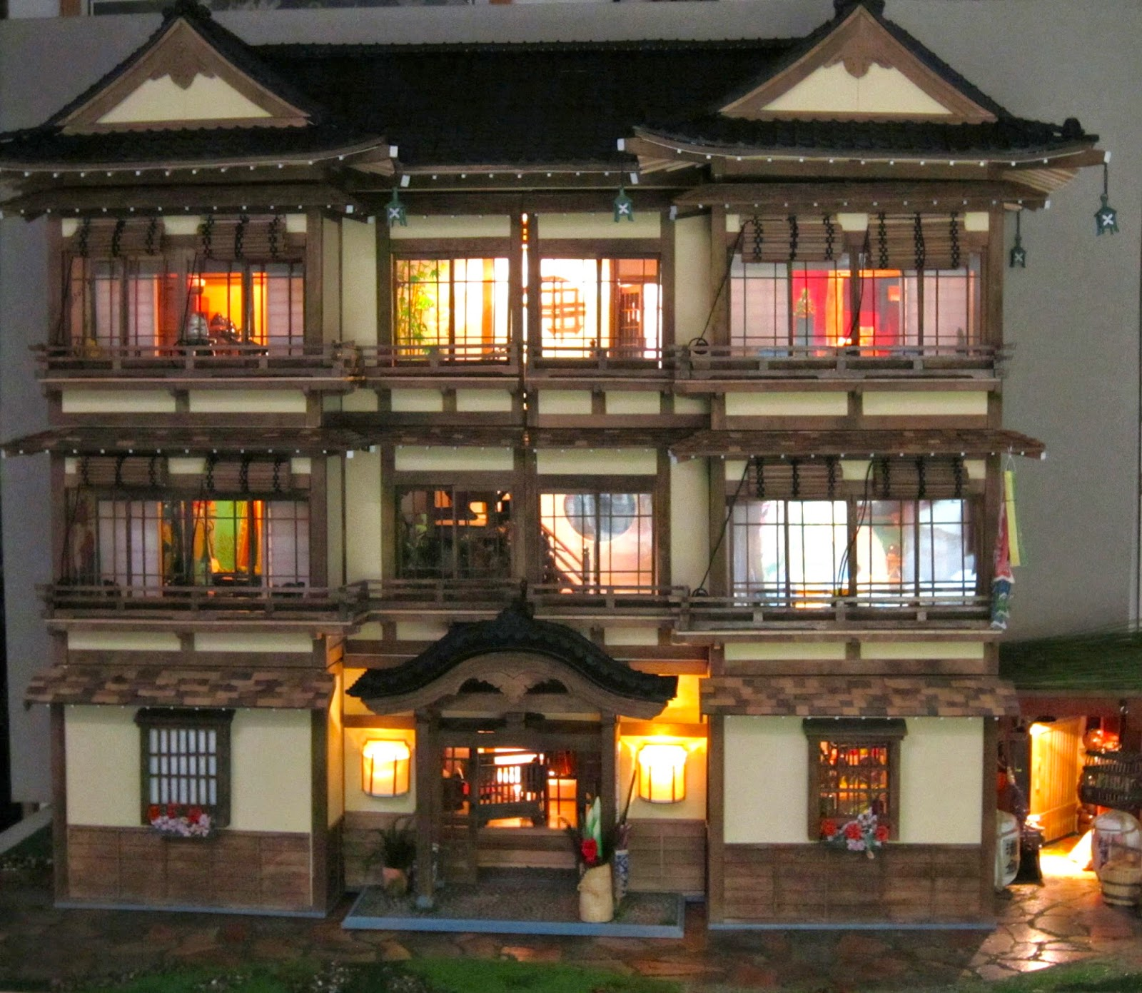 Japanese Dolls House Ryokan In Stile Giapponese