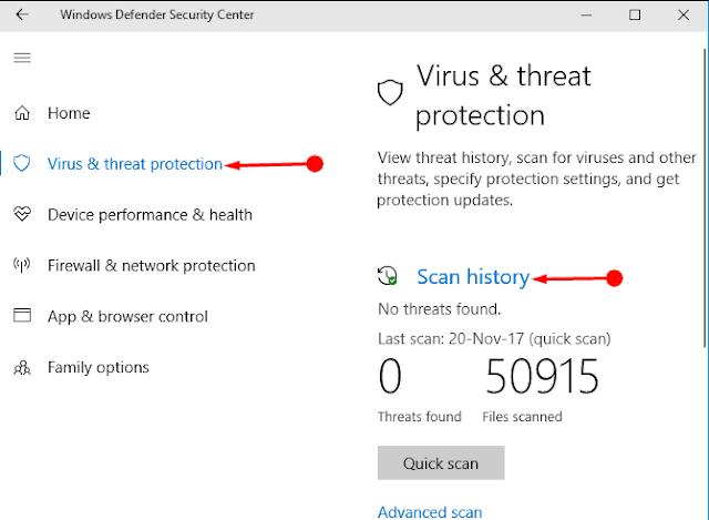 Workaround: Windows Defender Error 0x80029c4a  in Windows 10