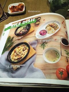 Menu Bibigo Korean Food Restaurant Jakarta