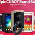 Grandes promoções nos smartphones CUBOT!