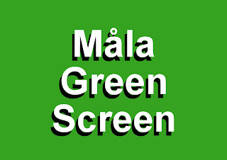 Måla Green Screen