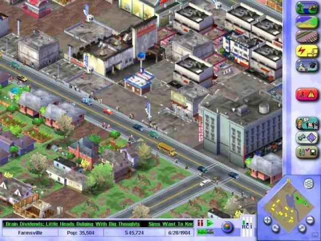 SimCity 3000 PC Games Screenshots