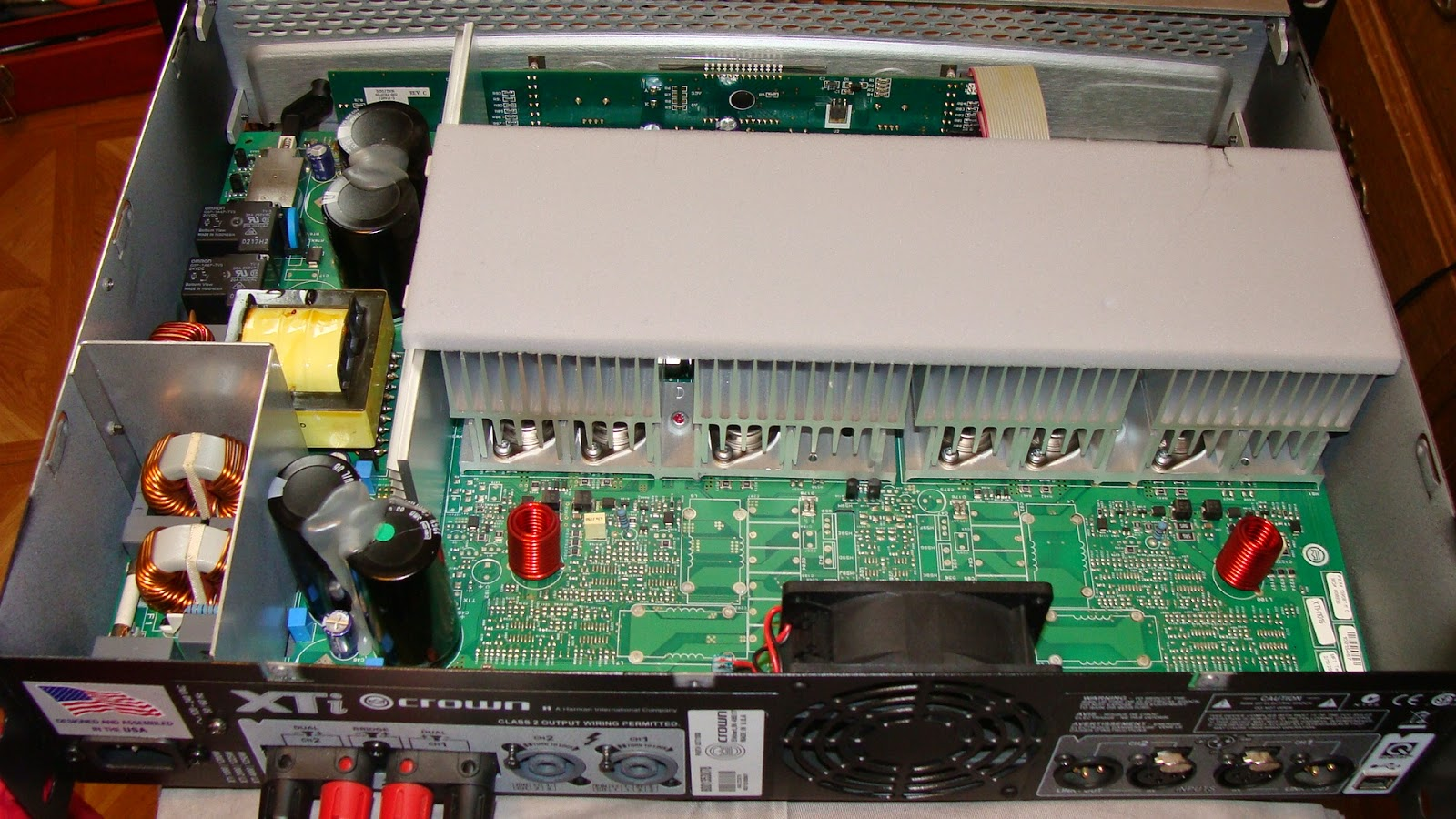 Crown Xti 1000 : my commentary and technical help crown xti 1000 power amplifier repair ~ Russianpoet.info Haus und Dekorationen
