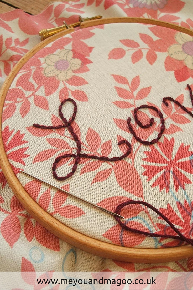 Me You And Magoo Free Beatles Inspired Valentine Embroidery Pattern