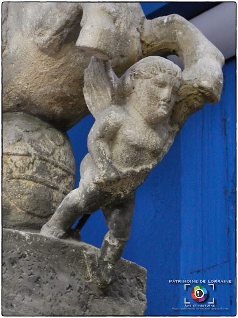 NANCY (54) - Musée Lorrain : Jupiter chevauchant !
