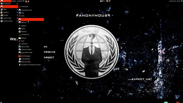 Anonymous OS, El sistema secreto de Anonymous 2017 GRATIS!