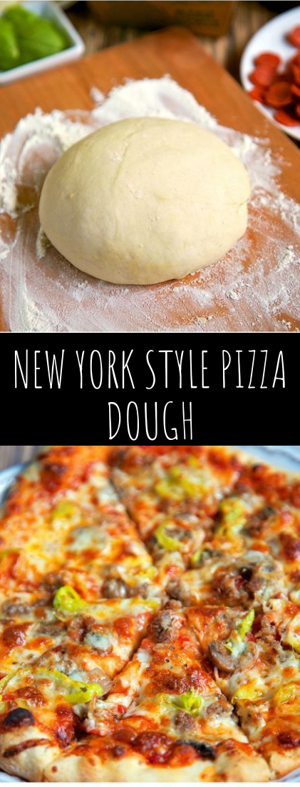 NEW YORK STYLE PIZZA DOUGH #dinnerfood #pizza