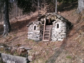 Old shelters on old paths