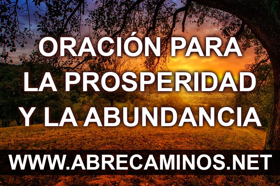 Oración para la Prosperidad y la Abundancia