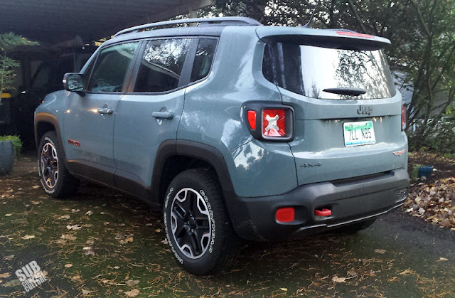 2015 Jeep Renegade Trail Hawk Rear
