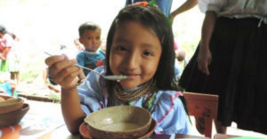 QALI WARMA: Más de mil escolares de comunidades indígenas amazónicas de San Martín reciben desayunos y almuerzos del programa social - www.qaliwarma.gob.pe