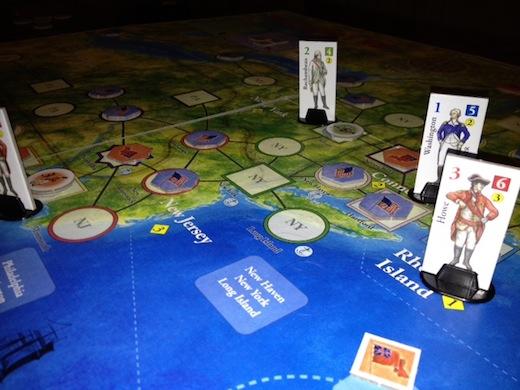 washingtons war board game