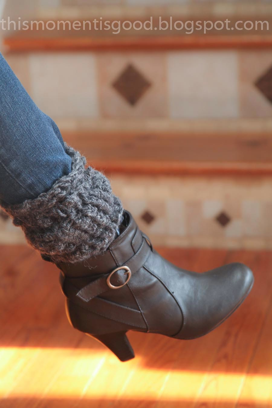 LOOM KNIT TEXTURED BOOT TOPPERS/CUFFS | Loom Knitting by This Moment ...