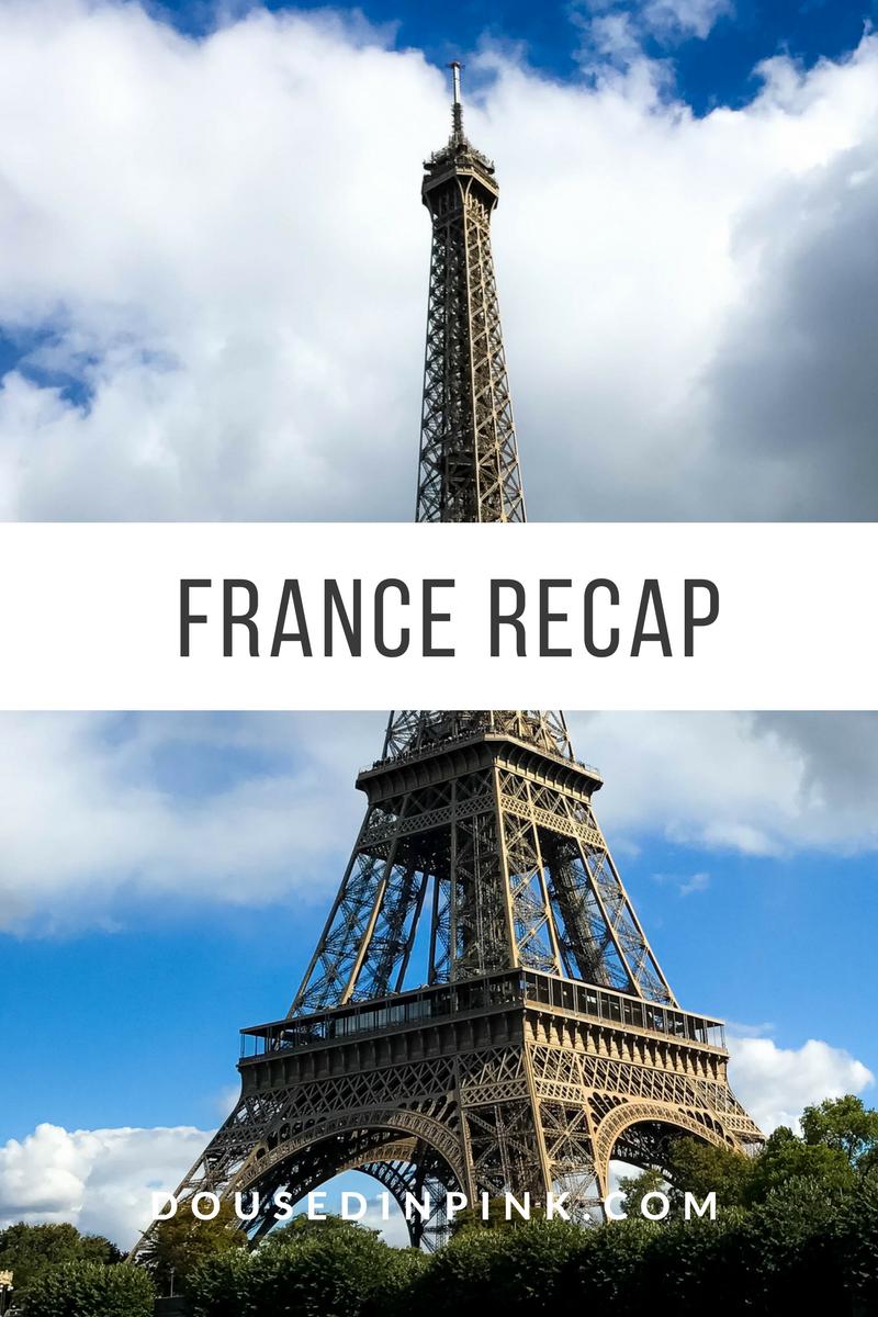 France Recap, Blog Announcement