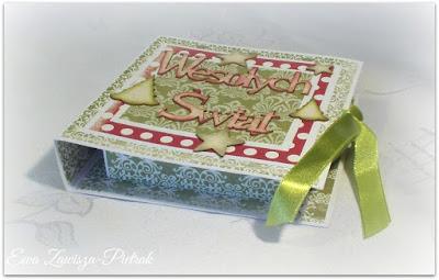 Pudełko Wesołych świąt