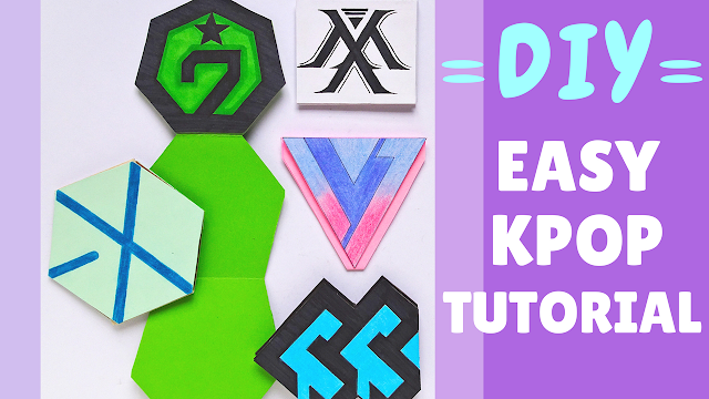 Koori Style, KooriStyle, Kpop, Kpop DIY, DIY,Kpop Tutorial, tutorial, Do it yourself, Manualidad, como hacer, reciclar, recycle, easy DIY, Got7, Monsta X, EXO, BtoB, Seventeen, logo, logos, plantilla, printable, free, notebook, libreta, libretita, card, tarjeta