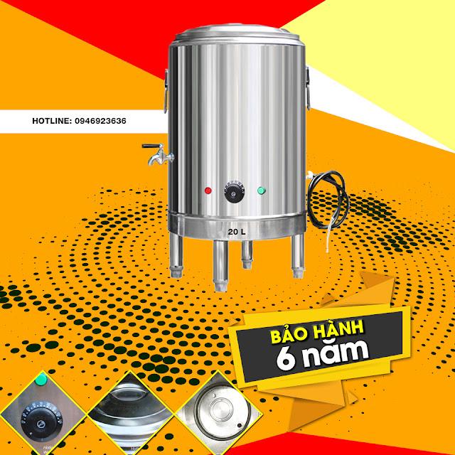 Nồi nấu phở mâm nhiệt cao cấp Bep36 sản xuất