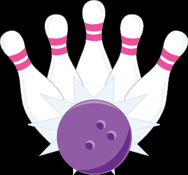 Bowling Quinceanera Girls Clipart