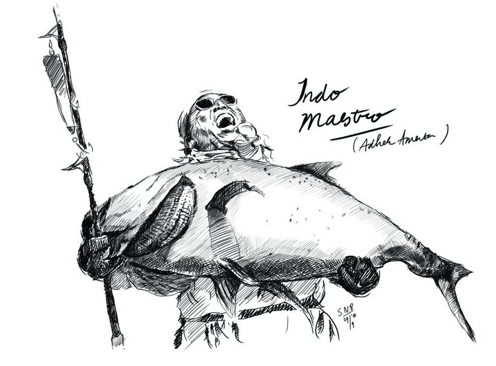 Mancing Mania mancing mania di waduk Gajah Mungkur Jawa