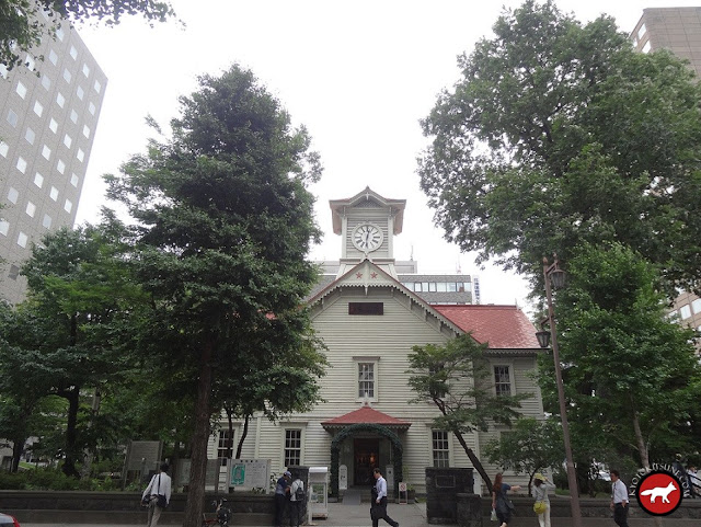 Eglise en bois à Sapporo