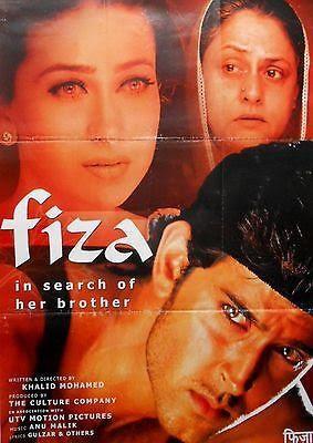 Hrithik Roshan and Karishma Kapoor in Fiza Movie
