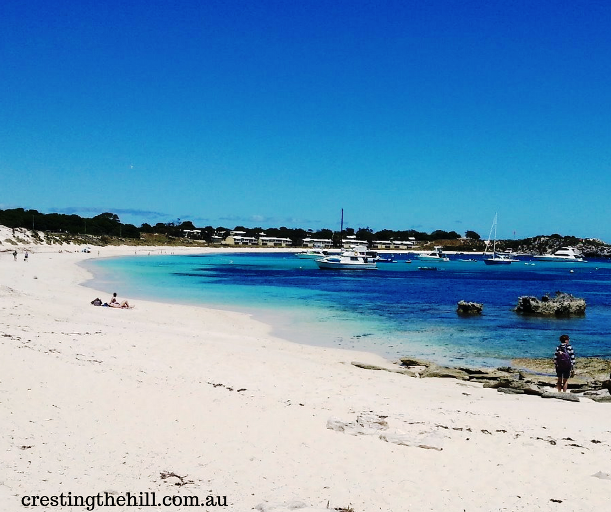 Our first visit to Rottnest Island, Western Australia - sun, sea and quokkas!