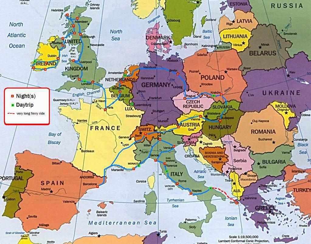 Promyana V Politicheskata Karta Na Evropa Za Poslednite 1000 Godini