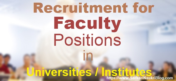 Faculty-Vacancy-University-institutes