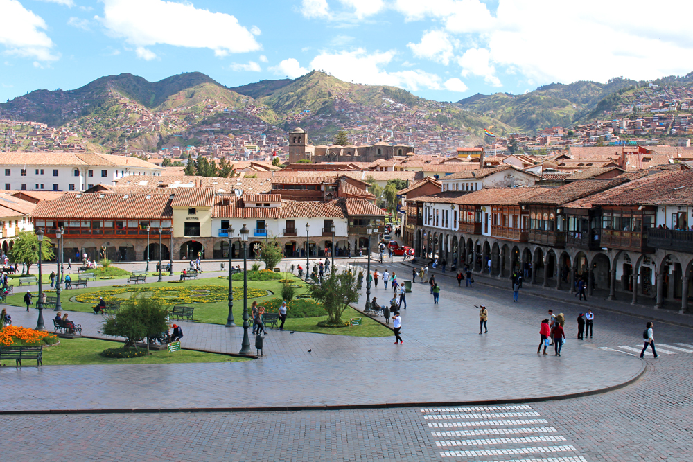 Plaza de Armas, Cusco, Peru - lifestyle & travel blog