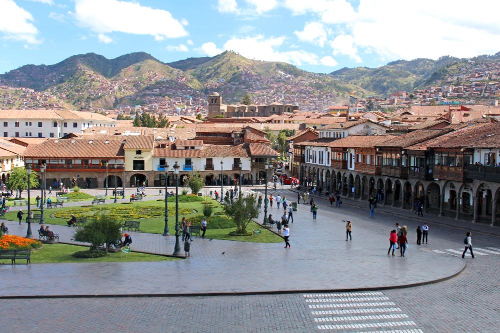 Plaza de Armas, Cusco, Peru - lifestyle & travel blog