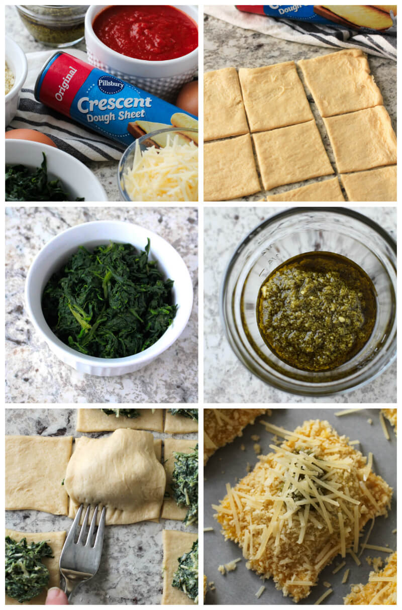 Toasted Spinach Pesto Ravioli, a category winner of the 48th Pillsbury Bake-Off® Contest, is a delicious appetizer recipe perfect for any occasion! #PillsburyBakeOff #MadeAtHome #appetizer #partyfood @Pillsbury #ad