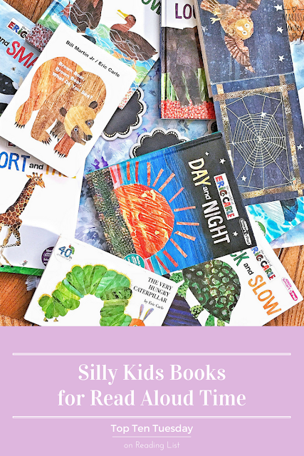 Top Ten Tuesdays - Silly Read Aloud Books