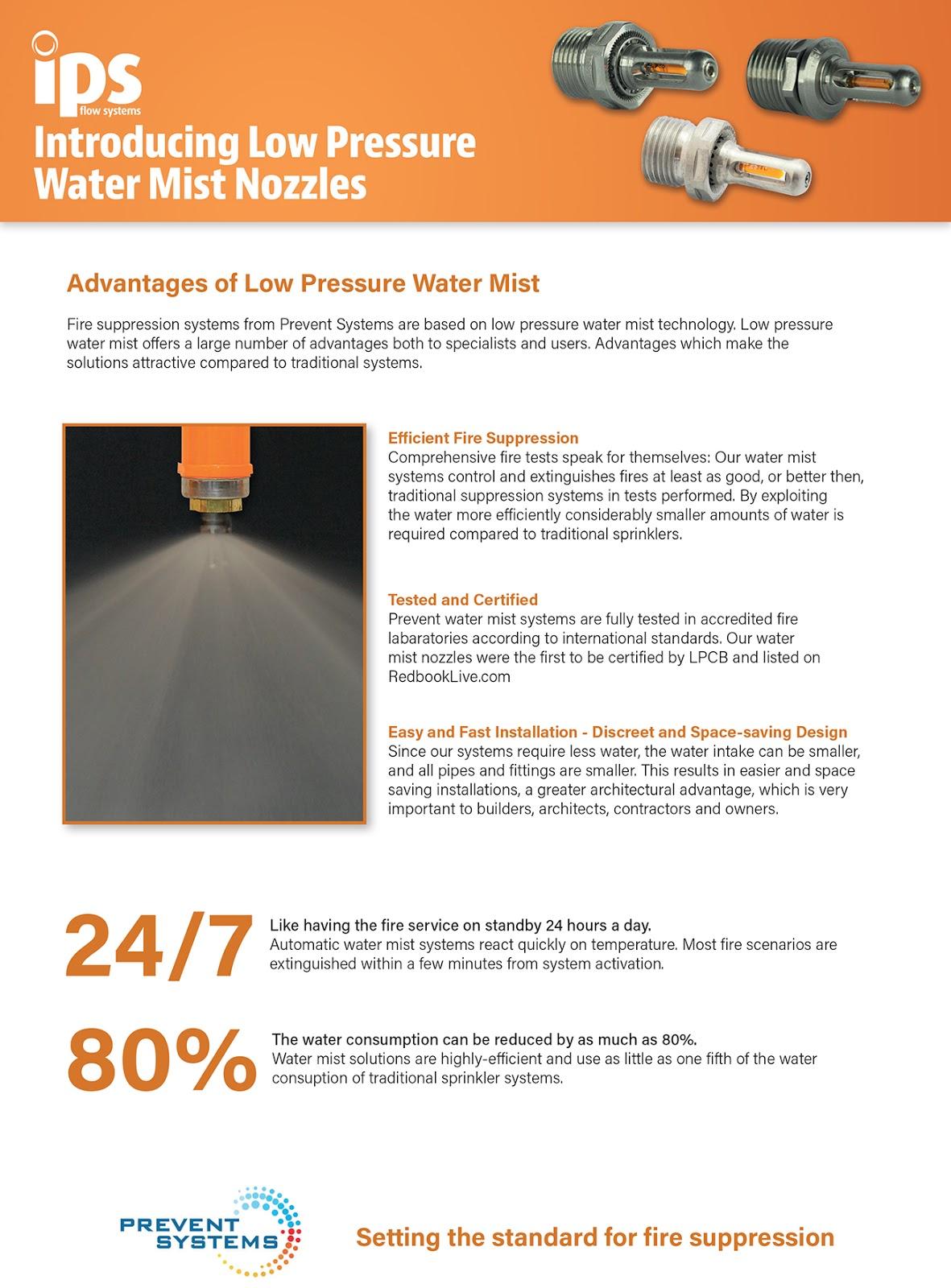 Firex Focus - Prevent Mist Nozzles