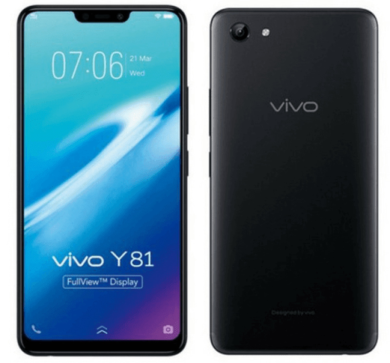 Vivo announces Y81 budget phone with 6.22-inch notched screen and Helio P22 in Taiwan