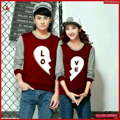 AKC289S52 Sweater Couple Love Anak 289S52 Pasangan Connection BMGShop