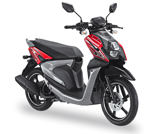 All New X-Ride 125 Blue Core Passion Red