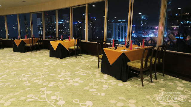 Bintang Revolving Restaurant, The Federal KL