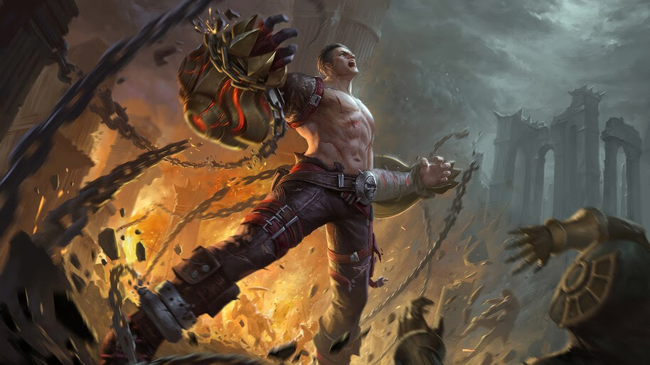 Sci-Fi, Fantasy, Warrior, 4K, #4.3093
