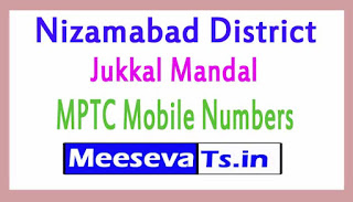 Jukkal Mandal MPTC Mobile Numbers List Nizamabad District in Telangana State