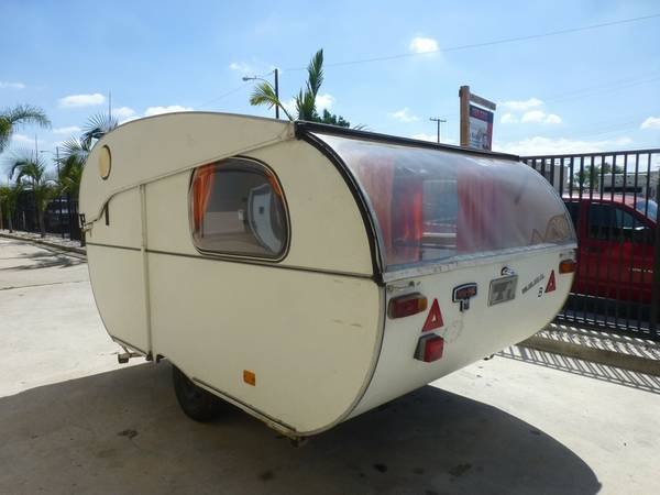 Rare Vintage Small Camper Trailer For Sale RV Camper