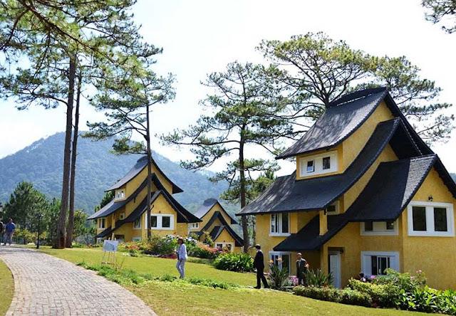Biệt thự view núi tại Vinpearl Đà Lạt