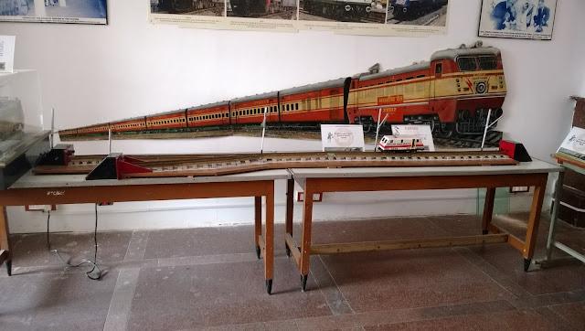 Rail Museum At Kacheguda Hyderabad